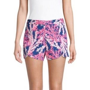 "Lilly Pulitzer Hazelle Stretch Shorts 5"" Inseam"